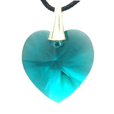 COEUR CRISTAL TURQUOISE