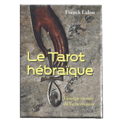COFFRET TAROT HEBRAIQUE FRANCK LAL SUPPR